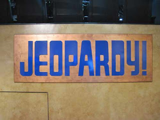 Jeopardy! Sign At Sony Pictures Studios.