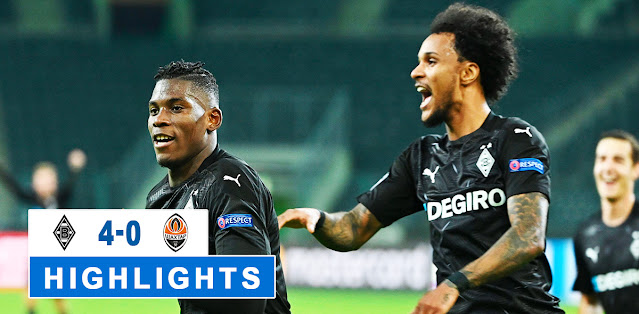 Borussia M'gladbach vs Shakhtar Donetsk – Highlights
