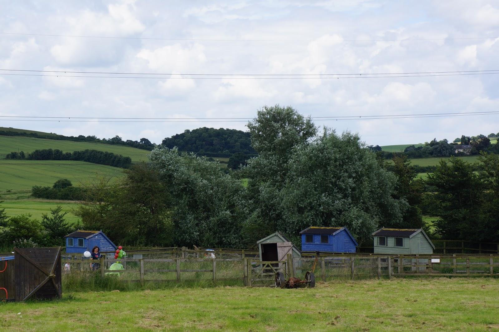 chicken huts at lee valley park farm