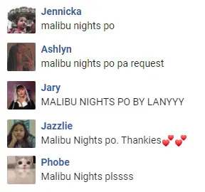 Malibu Nights LANY Request