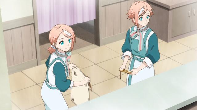 Kembar Norad sedang bersiap sebelum hari pertama buka penatu milik Ryoma Takebayashi dari Kamihiro