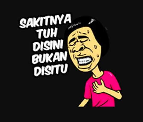 Stiker WA Gokil Ngakak
