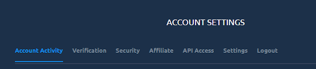 account settings exmarkets