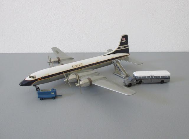 1/144 1/200 Bristol Britannia diecast metal aircraft miniature