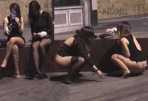 Girls Gotta Go 15 (Spanish girls caught peeing on the festivals)