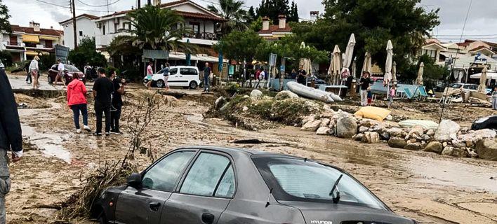 Αποκαταστάθηκαν στη Χαλκιδική οι ζημιές από τις πλημμύρες του περασμένου Μαρτίου.