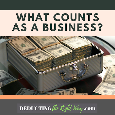 What is a small business? | www.deductingtherightway.com