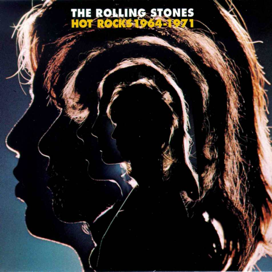 The Rolling Stones - Hot Rocks 1964-1971 [Latest Pressing ...  |Rolling Stones Hot Rocks Album Cover