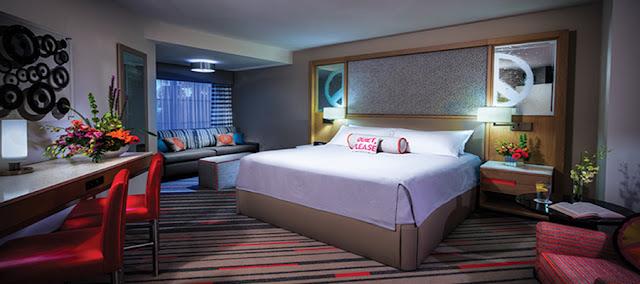 Quarto Hard Rock Hotel em Orlando