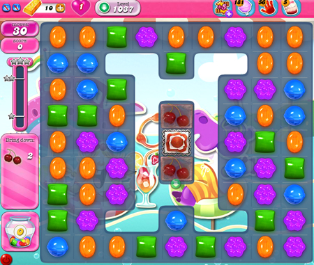 Candy Crush Saga 1037