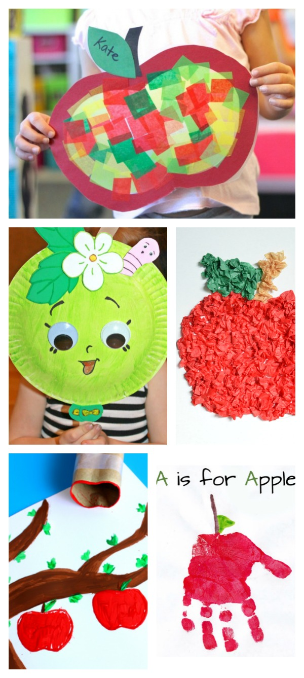 30 APPLE CRAFTS & ACTIVITIES FOR KIDS - I can't wait to try the apple volcano!!