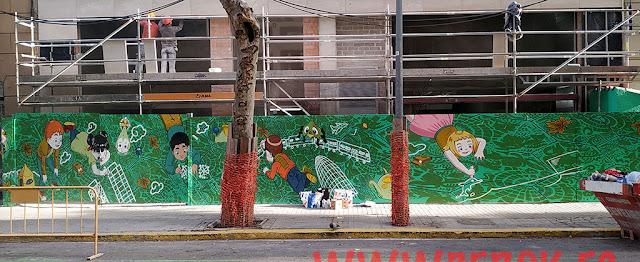 Graffiti Dani Bermúdez