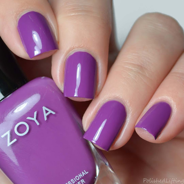 grape purple nail polish