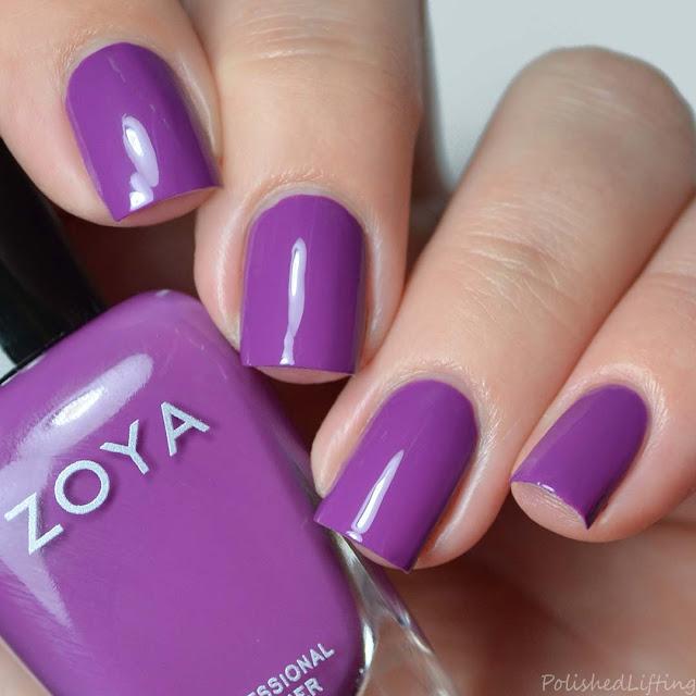 grape purple nail polish
