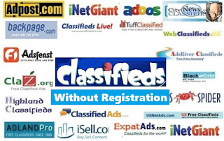 Free Classified Submission Sites List without Registration JUN 2018