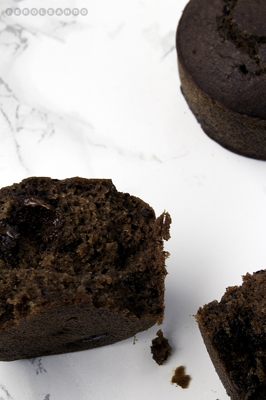Magdalenas de sarraceno y cacao (sin gluten)