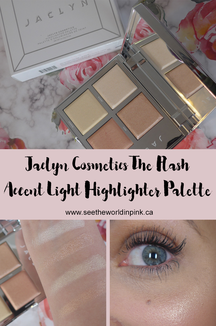"Jaclyn Cosmetics Accent Light Highlighter Palette - ""The Flash"""