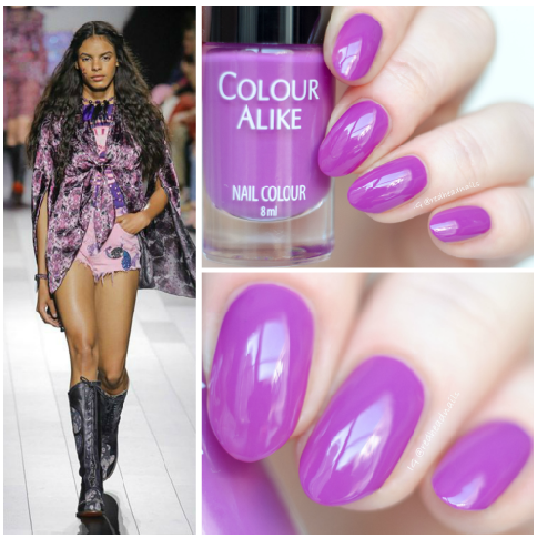 Colour Alike Spring Crocus alike swatch