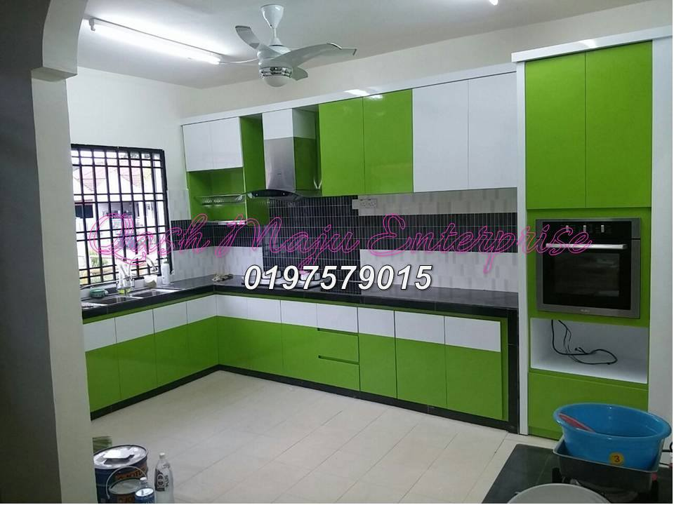 Kitchen cabinet kabinet dapur renovations in johor for Harga kitchen cabinet 2016