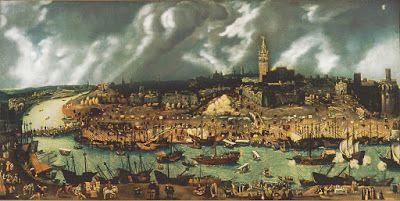 Panorámica de Sevilla del siglo XVI
