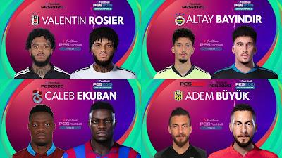 PES 2021 Turkey Süper Lig Facepack 3 by PES Football Turkey