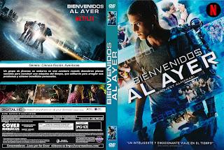 BIENVENIDOS AL AYER – PROYECTO ALMANAC – 2015 [COVER – DVD]