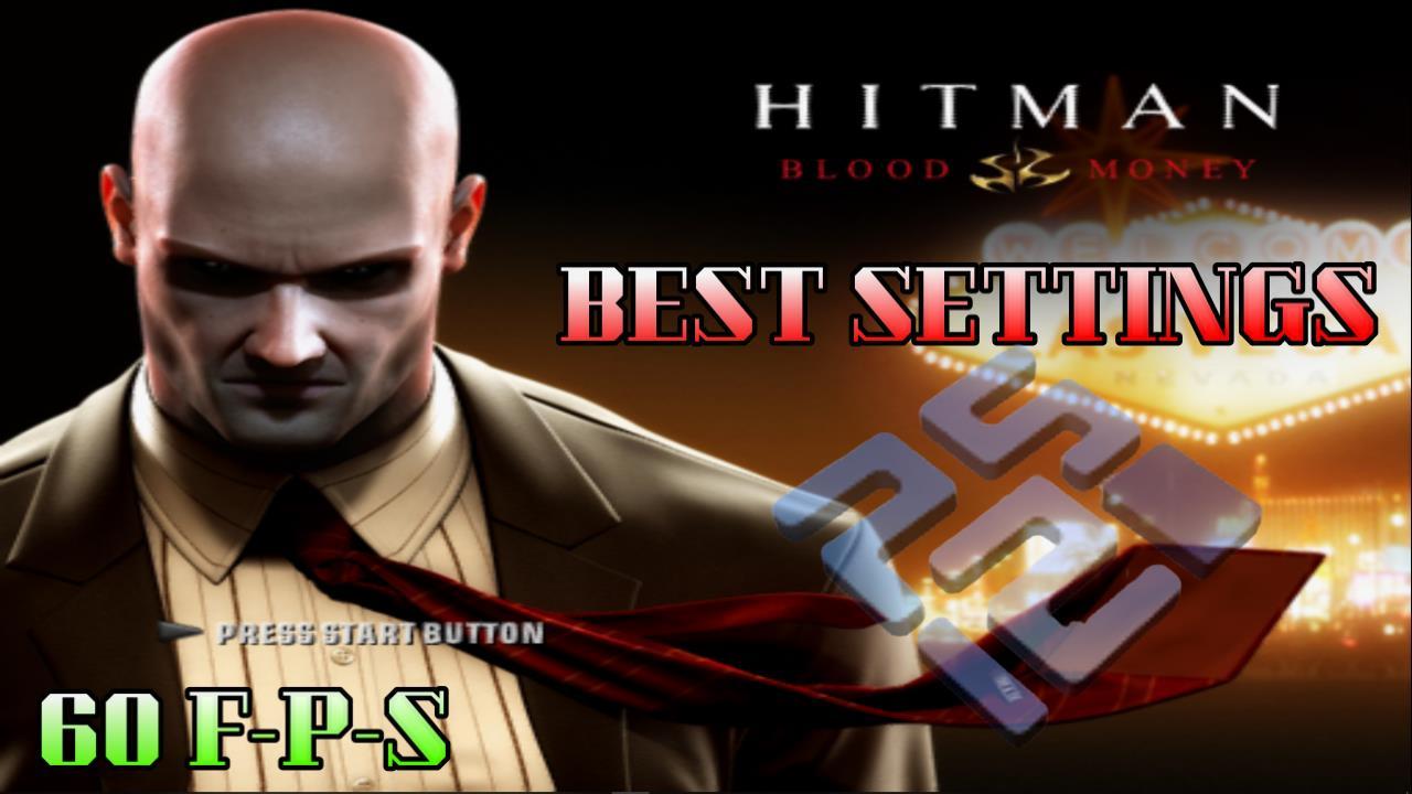 Best Settings for Hitman Blood Money (PS2) PCSX2 Low-End PC
