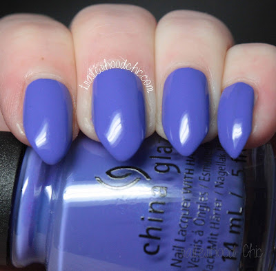 china glaze lite brites collection swatch i got a blue attitude