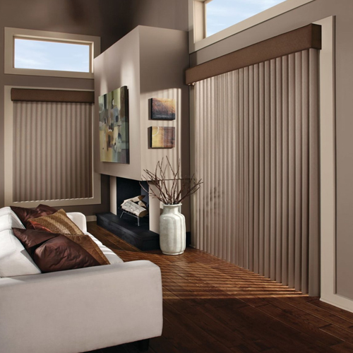 Our Favorite Vertical Blinds For Patio Doors And Picture Windows