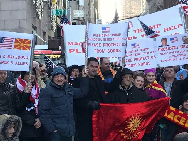 President Trump must end Obama Administration's support for Soros through USAID Macedonia