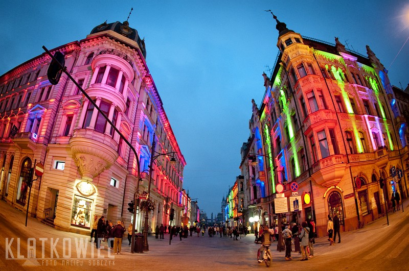 Łódź: kolorowe miasto