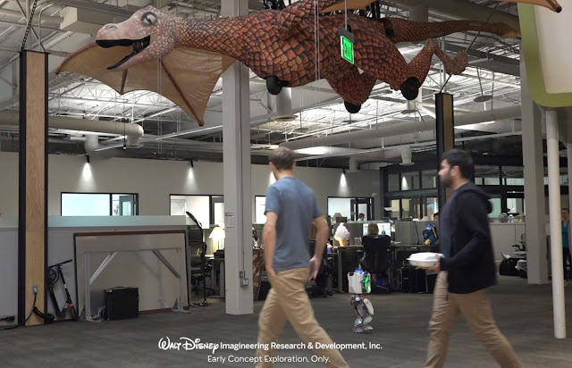 華特迪士尼幻想工程(Walt Disney Imagineering)分享「Project Kiwi」機械人技術, Marvel, Groot
