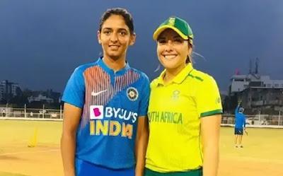 SA-W tour of IND 2019 SA-W vs IN-W 5th T20I Match