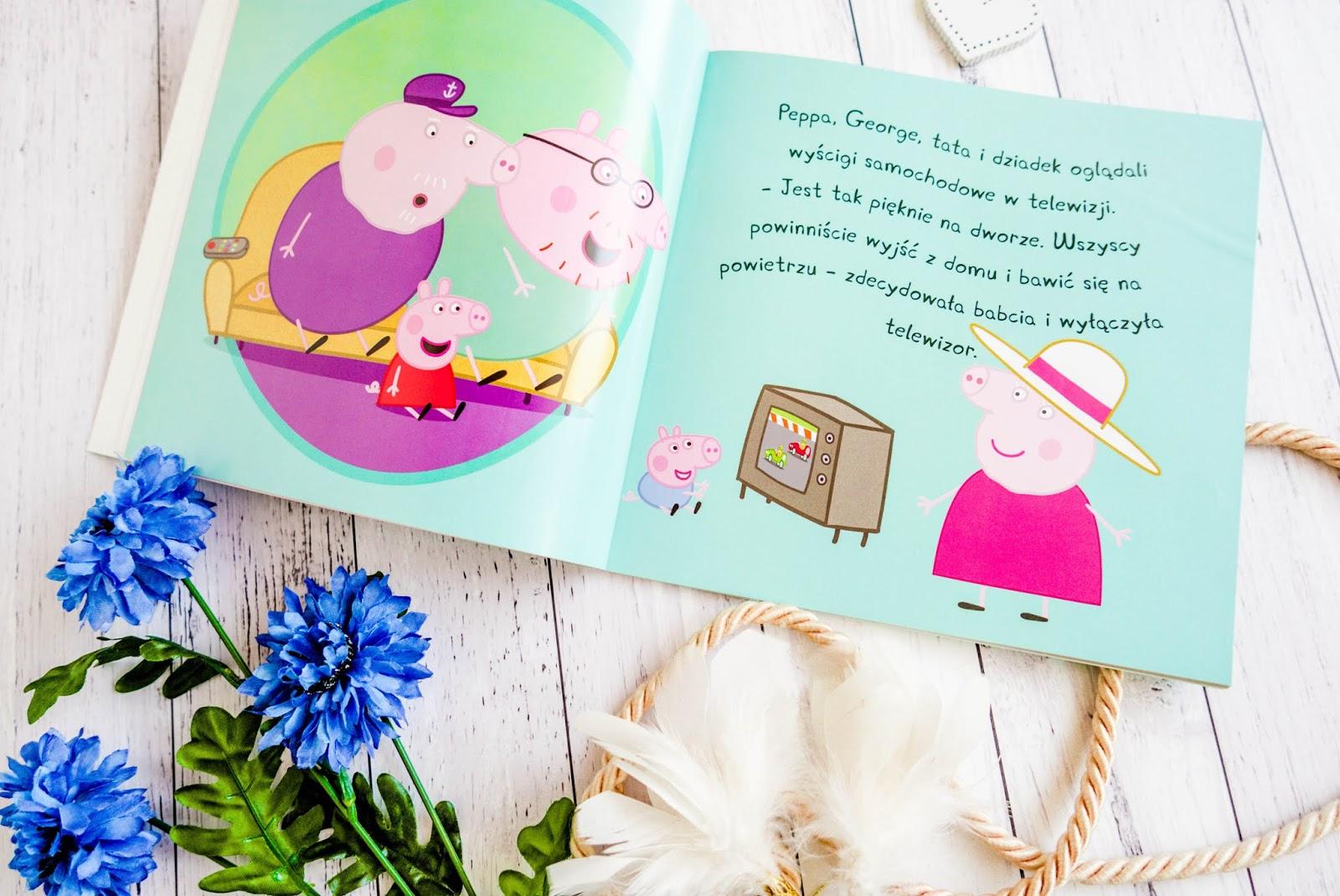 bajki dla dzieci, peppa pig
