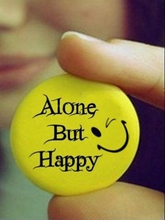 WallPapers: Alone But Happy