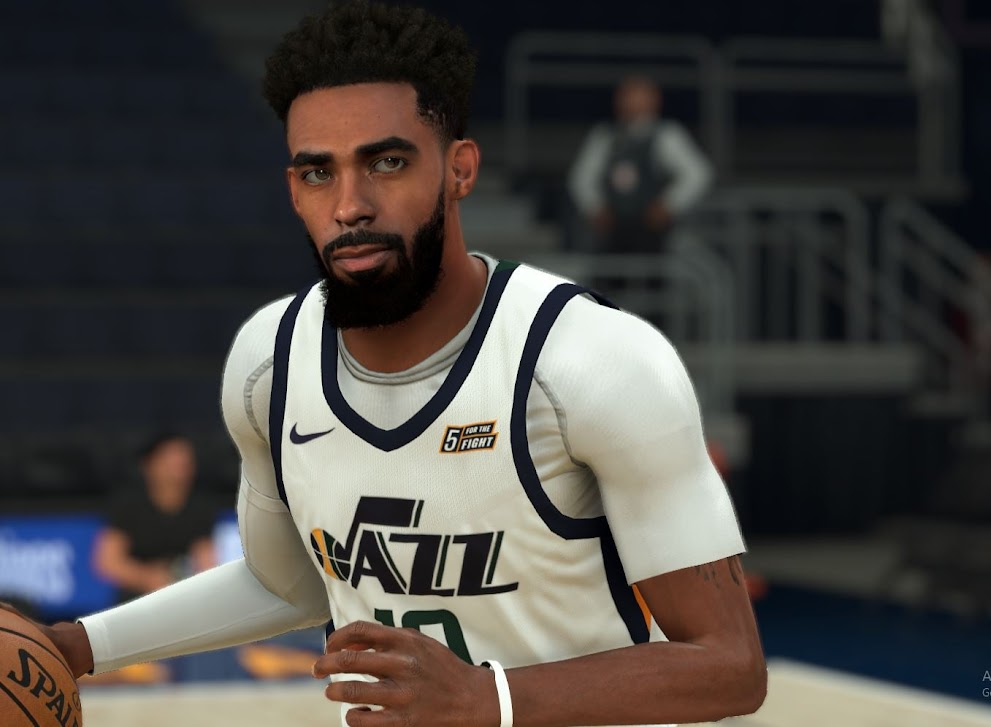 Mike Conley Jr. Cyberface, Hair and Body Model By FIRE2K [FOR 2K21]