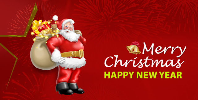 Merry christmas and new year 2018 facebook dp status messages greetings