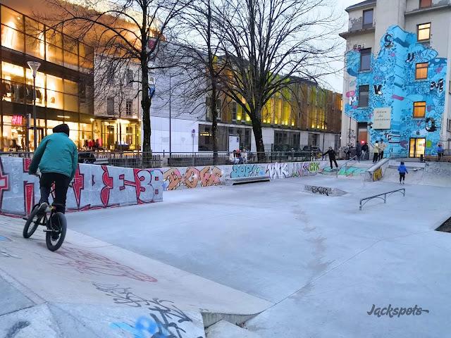 skatepark caserne de bonne grenoble