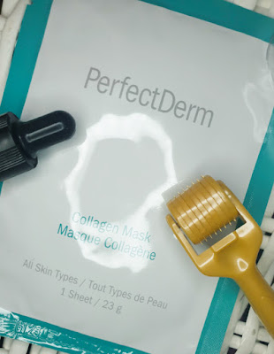 PerfectDerm Collagen Face Mask