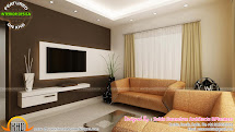 Kerala Home Interior Design Living Room