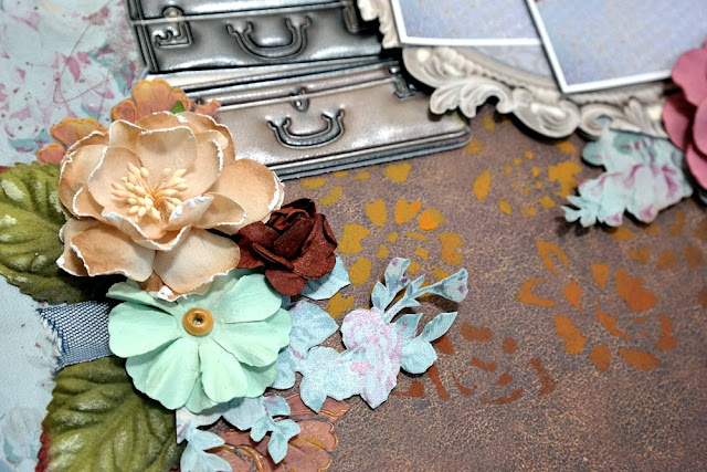 Home by Dana Tatar for Scraps of Darkness - May Attic Finds Kit - Flower Closeup