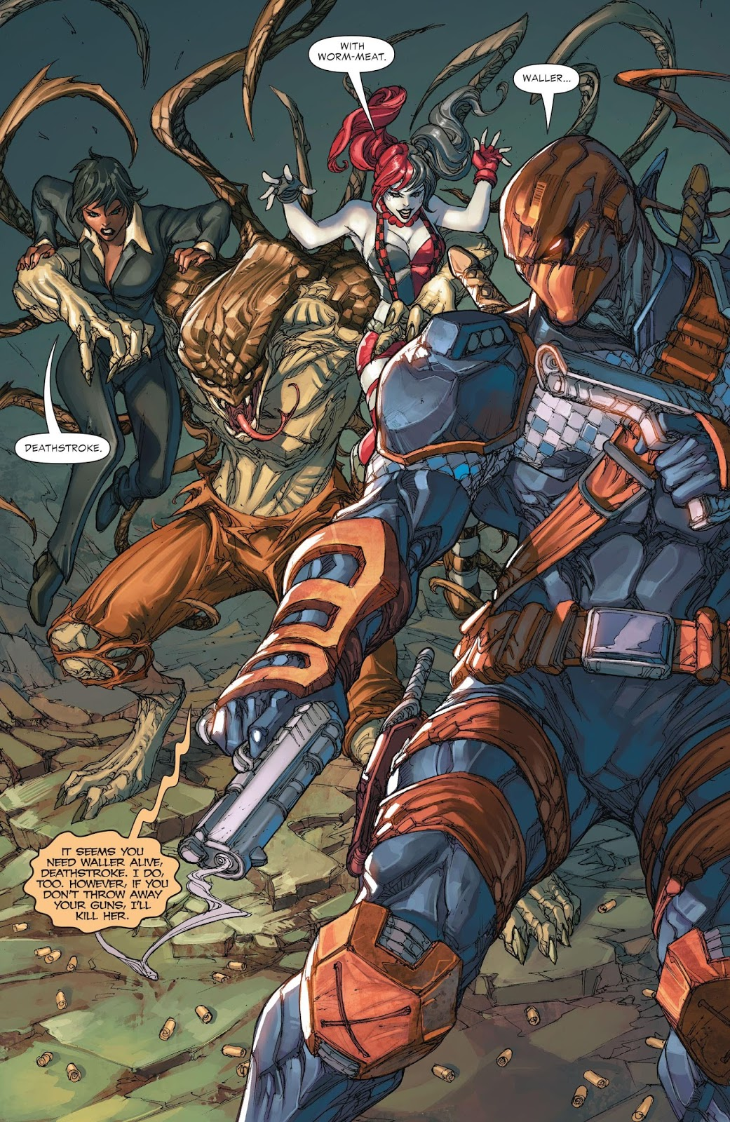 Weird Science DC Comics: Deathstroke #13 Review