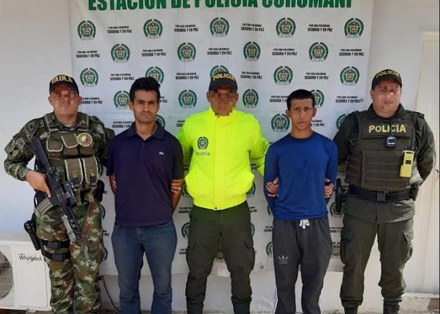 En Curumaní cayeron asesinos de un político en el Tolima