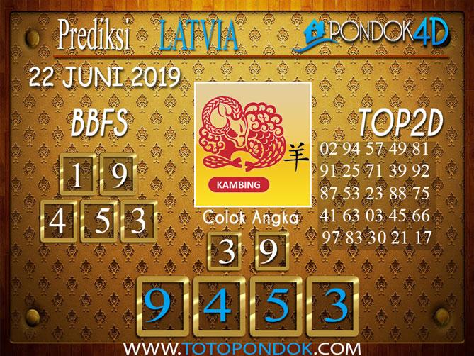 Prediksi Togel LATVIA PONDOK4D 22 JUNI 2019
