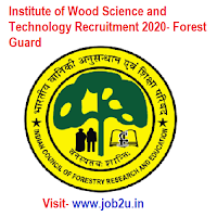 Institute of Wood Science and Technology Recruitment 2020, Forest Guard