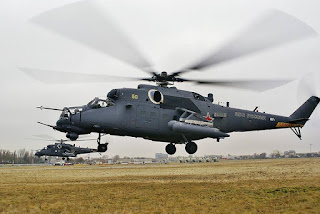 Helikopter serbu Mi-24 Hind