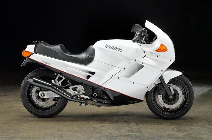 1988 Ducati Paso 750 in White - Cyberpunk AF!