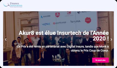 Akur8 est élue Insurtech de l'année 2020