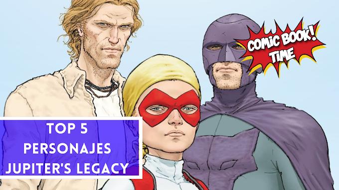 TOP 5: Mejores personajes de Jupiter's Legacy (contiene SPOILERS del cómic)