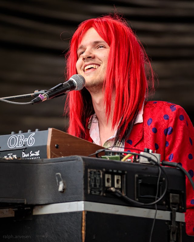 Dancey Jenkins performing at the Nutty Brown Amphitheatre in Austin, Texas